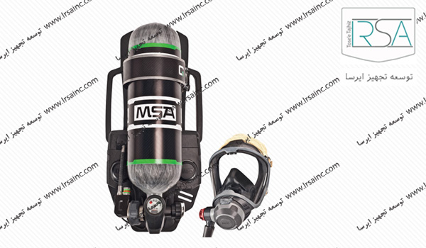 دستگاه تنفسی msa