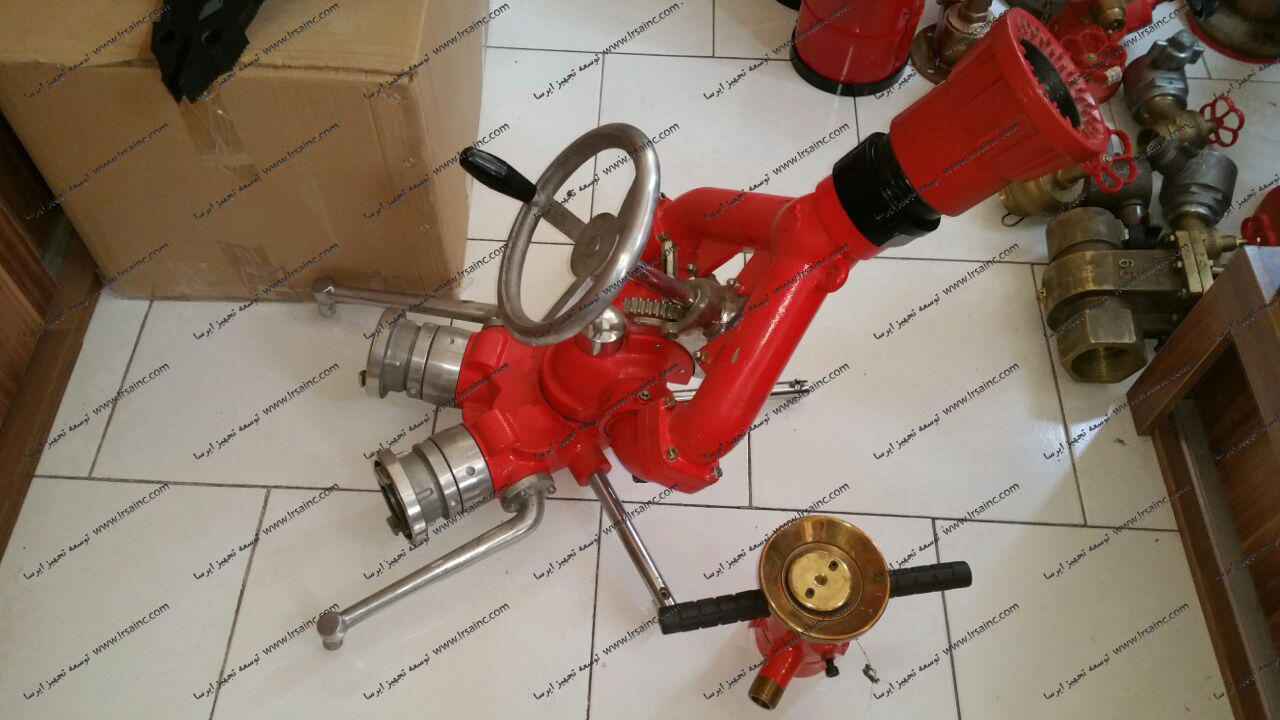 مانیتور آتش نشانی ثابت دو فرمان1